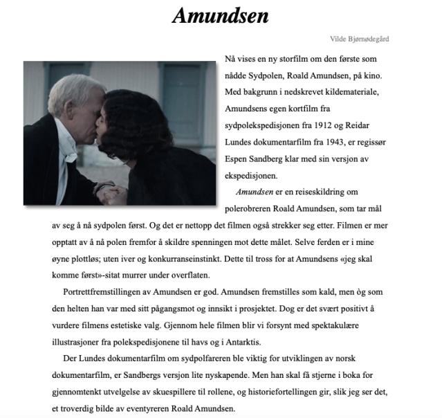 Amundsen_Anmeldelse_Bjørnødegård